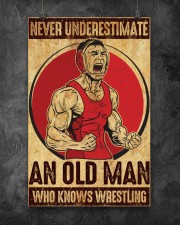 Old Man Knows Wrestling 11x17 Poster aos-poster-portrait-11x17-lifestyle-12