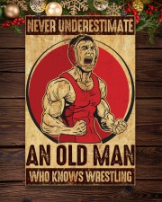 Old Man Knows Wrestling 11x17 Poster aos-poster-portrait-11x17-lifestyle-22