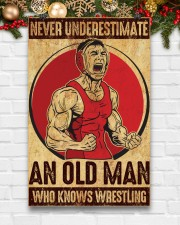Old Man Knows Wrestling 11x17 Poster aos-poster-portrait-11x17-lifestyle-23