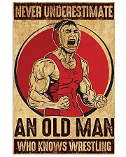Old Man Knows Wrestling 11x17 Poster front