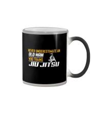 Old Man Who Trains Jiu Jitsu Color Changing Mug thumbnail