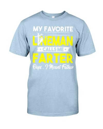 Favorite Lineman Calls Me Farter