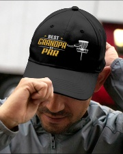Best Grandpa Disc Golf Embroidered Hat garment-embroidery-hat-lifestyle-01