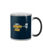 Best Grandpa Disc Golf Color Changing Mug thumbnail