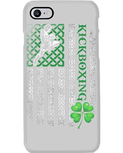 Kickboxing Irish American Flag