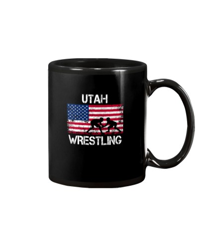 Utah Wrestling American Flag