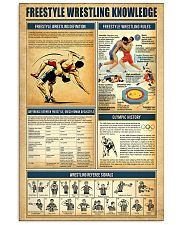 Wrestling Knowledge 11x17 Poster front