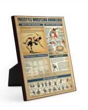 Wrestling Knowledge 8x10 Easel-Back Gallery Wrapped Canvas thumbnail
