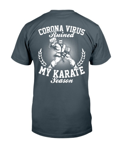 Karate Season 2020 Backside
