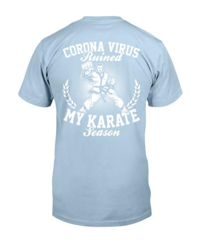 Karate Season 2020 Backside