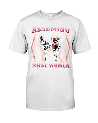 Taekwondo Assuming