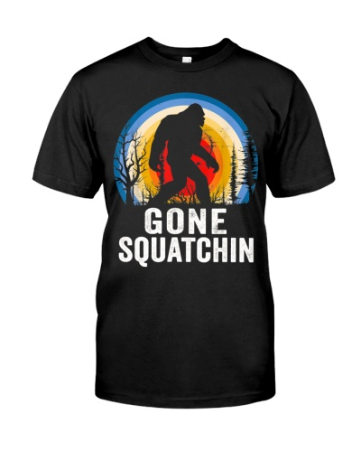 Gone Squatchin Bigfoot
