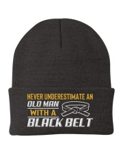 Old Man With A Black Belt Knit Beanie thumbnail
