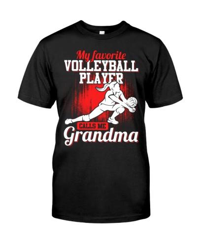 Volleyball Grandma Favorite Player