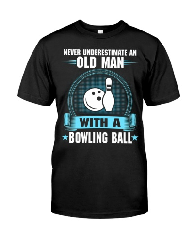 Old Man With Bowling Ball