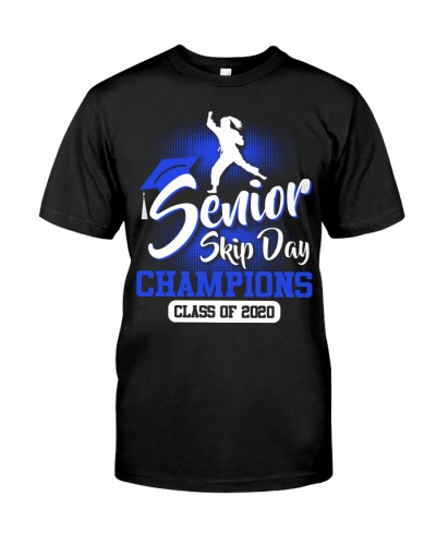 Karate-senior 2020 Skip Day Blue