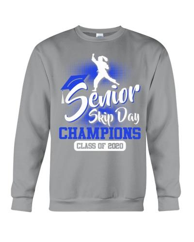 Karate-senior 2020 Skip Day Blue