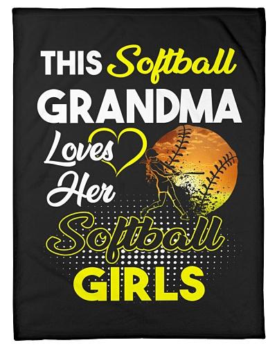 This Softball Grandma Loves Her Softball Girls