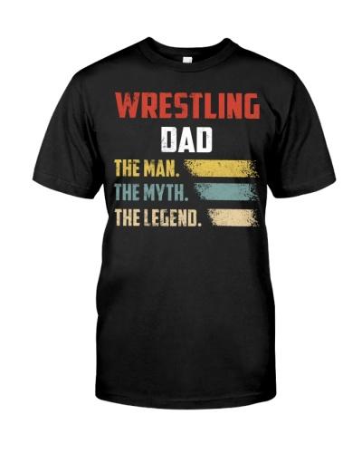 Wrestling Dad The Man The Myth The Legend