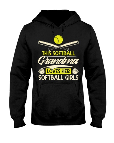 Softball Grandma Loves Softball Girls