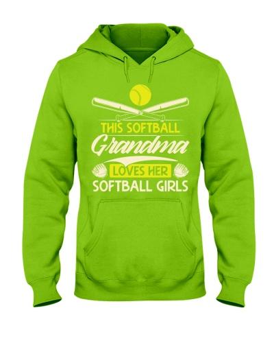 Softball Grandma Loves Softball Girls