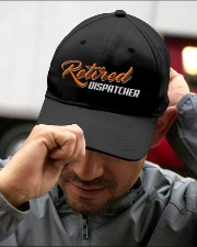 Retired Dispatcher Embroidered Hat garment-embroidery-hat-lifestyle-01