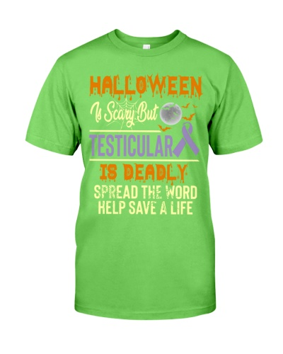 Testicular Cancer Halloween Costume