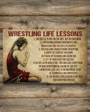 Wrestling Life Girl 17x11 Poster aos-poster-landscape-17x11-lifestyle-14