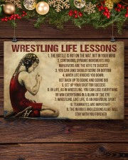 Wrestling Life Girl 17x11 Poster aos-poster-landscape-17x11-lifestyle-27
