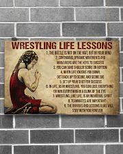 Wrestling Life Girl 17x11 Poster poster-landscape-17x11-lifestyle-18