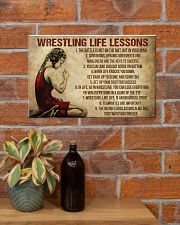 Wrestling Life Girl 17x11 Poster poster-landscape-17x11-lifestyle-23