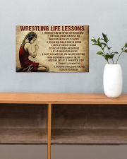 Wrestling Life Girl 17x11 Poster poster-landscape-17x11-lifestyle-24