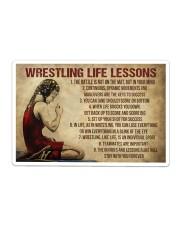 Wrestling Life Girl Sticker - Single (Horizontal) thumbnail