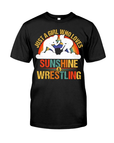 A Girl Who Loves Sunshine And Wrestling