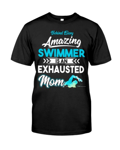 Swimming Mom Behind Amazing