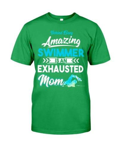 Swimming Mom Behind Amazing