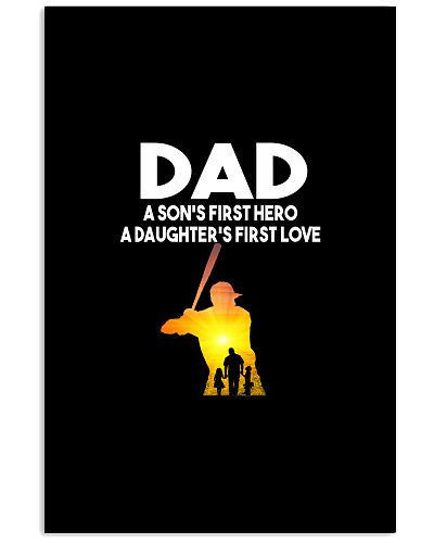 Baseball Dad A Son's First Hero