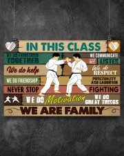 Karate In this class 17x11 Poster aos-poster-landscape-17x11-lifestyle-12