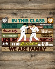 Karate In this class 17x11 Poster aos-poster-landscape-17x11-lifestyle-14