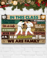 Karate In this class 17x11 Poster aos-poster-landscape-17x11-lifestyle-28
