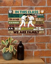 Karate In this class 17x11 Poster poster-landscape-17x11-lifestyle-23