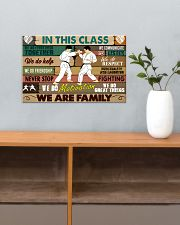 Karate In this class 17x11 Poster poster-landscape-17x11-lifestyle-24
