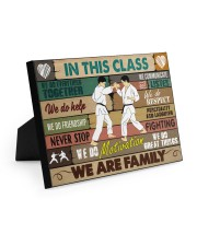Karate In this class Easel-Back Gallery Wrapped Canvas tile