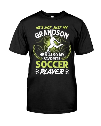 Grandson Soccer Player