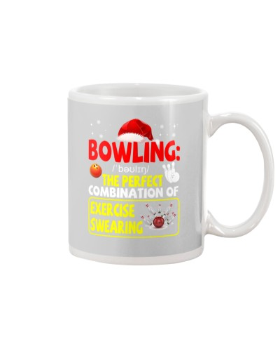 Bowling Exercise Swearing Xmas Christmas