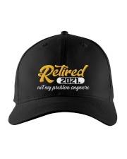 Retired 2021 Not My Problem Anymore Embroidered Hat front