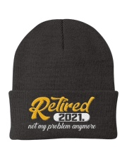 Retired 2021 Not My Problem Anymore Knit Beanie thumbnail