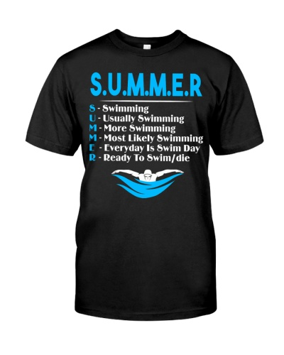 Summer Swimming Swimmer