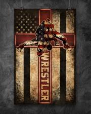 Wrestler Wrestling Poster 11x17 Poster aos-poster-portrait-11x17-lifestyle-12