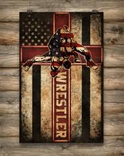 Wrestler Wrestling Poster 11x17 Poster aos-poster-portrait-11x17-lifestyle-14